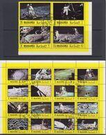 Manama 1970 Space / Moon Landing 20v Used (F8180) - Manama