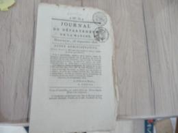 Journal Du Département De La Manche 28 Septembre 1808 N° 78 - Kranten
