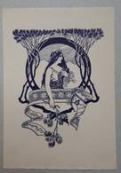 Ex-libris Illustré Art Nouveau Autriche Début XXème - G. SCHMIDT (Vienne) - Ex-libris