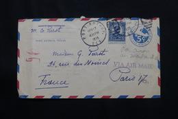 ETATS UNIS - Entier Postal + Complément De Port Arthur Pour La France En 1935 Par Avion - L 60528 - 1921-40