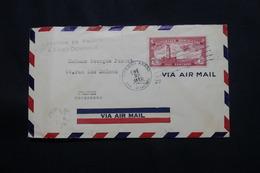 DOMINICAINE - Cachet De La Légation De France Recto / Verso D'une Enveloppe De St Domingue En 1933 Pour Paris  - L 60538 - Dominicaanse Republiek