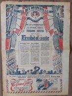 FRANCE SOIR 2 AVRIL 1945 PARIS RECOIT LA CROIX DE LA LIBERATION PROGRAMME SOUVENIR - Otros