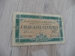Billet De Nécessité 50 Centimes Mont De Marsan - Bons & Nécessité