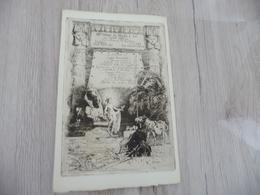 Magnifique Menu Eau Forte Gravé 36 ème Diner Du Moulin à Sel Par Louas 06/06/1911 Blondat/Merson Nu Nude Pharaon Billet - Menükarten