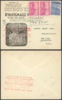 Belgique - Lettre Illustrée Roulers Vers New York USA - 1948 Export