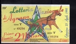 Lotteria Nazionale - 1995 AGNANO - Billets De Loterie