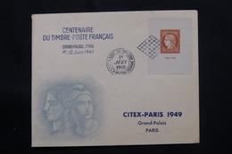 FRANCE - Enveloppe FDC En 1949- Citex - L 60541 - ....-1949