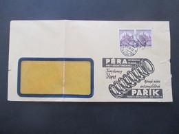 Böhmen Und Mähren 1940 Nr. 27 MeF Firmenumschlag Pera Spiralova Parik / Auto Bzw. Fahrwerksfedern - Briefe U. Dokumente
