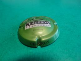 CAPSULE DE CHAMPAGNE  -  CHAUDRON  -  Vert Noir Gris - Champagne