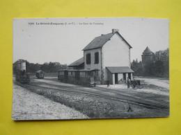 Le Grand Fougeray ,gare Du Tramway ,beau Plan ,état - Autres Communes