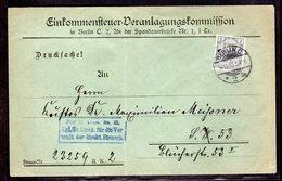 DR, Ortsbrief Mit EF. Mi.-Nr. D1 - Germany