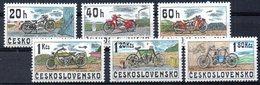 TCHECOSLOVAQUIE. N°2117-22 De 1975. Motos. - Motorfietsen