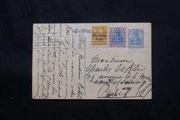 ALLEMAGNE - Entier Postal + Compléments De München Pour La France En 1922 - L 60550 - Ganzsachen
