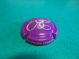 CAPSULE DE CHAMPAGNE  -  BOULACHIN CHAPUT  -  N°05 Fuchsia Et Blanc - Champagne