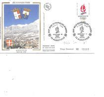 FRANCE FDC N° 2632 J.O D'HIVER SOIE - FDC