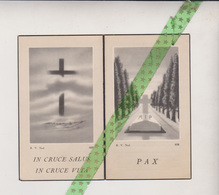 Alfons De Glas-Van Lierde, Ophasselt 1888, 1950 - Esquela