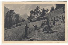 Žetev Na Gorenjskem Old Postcard Posted 1945 Črnomelj To Zagreb B200501 - Slovenia