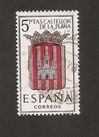España 1962 Used Castellón De La Plana - 1931-Aujourd'hui: II. République - ....Juan Carlos I