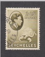 Seychelles 1938   2.25 Rupee   SG148    Used - Seychelles (...-1976)