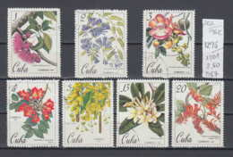 96K202 / 1967 - Michel Nr. 1295-1301 Used ( O ) The 150th Anniversary Of The Cuban Botanical Gardens , Cuba Kuba - Kuba