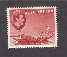 Seychelles 1938   5 Rupee   SG149    MH - Seychelles (...-1976)