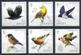 2018 Jersey, Birds, 6 Stamps, MNH - Birds