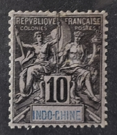 Indochina - 1892 - Sc 8 - MH - Neufs