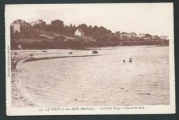 N°33 - La Trinité Sur Mer ( Morbihan ) La Petite Plage à L'heure Du Bain   Maca 1273 - La Trinite Sur Mer