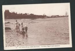 N°32 - La Trinité Sur Mer ( Morbihan ) La Petite Plage à  Marée Montante    Maca 1274 - La Trinite Sur Mer