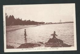 N°28 - La Trinité Sur Mer ( Morbihan ) La Petite Plage     Maca 1275 - La Trinite Sur Mer