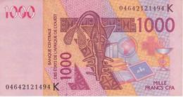 BILLETE DE SENEGAL DE 1000 FRANCS DEL AÑO 2003 (CAMELLO-CAMEL) (BANK NOTE) - Sénégal