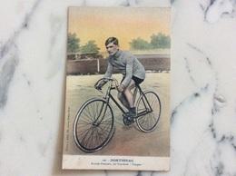 Dortignac.Routier Français Sur Bicyclette Peugeot. - Cycling