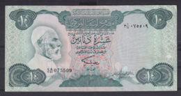 Ref. 3034-3457 - BIN LIBYA . 1984. LIBYA 10 DINARS 1984 - Libia