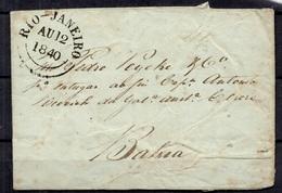 Brésil Belle Marque Postale Entière De 1840. B/TB. A Saisir! - Brésil