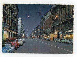 Milano- Corso Buenos Aires - Notturno  - Automobili - Viaggiata Nel 1964 - (FDC21705) - Cartoline