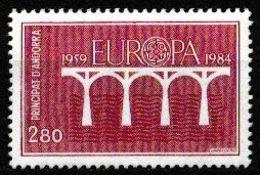 (!)  Timbre EUROPA CEPT De 1984 Andorre Oblitéré - Europa-CEPT