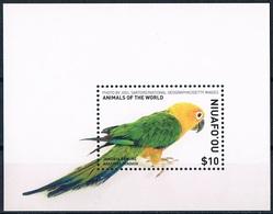 Bloc Sheet Oiseaux Perroquets Birds Parrots Neuf MNH ** Niuafo'ou 2018 - Parrots