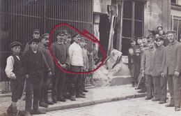( 60 ) -  Noyon Nach Bombenangriff  Carte Photo Allemande 1° Guerre - Noyon