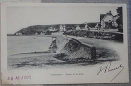 50 Manche CPA Carteret Route De La Jetée 1903 - Carteret