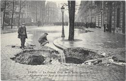 PARIS : LA GRANDE CRUE DE LA SEINE - France