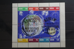 DDR 926-933 Gestempelt Als Kleinbogen Weltraum Raumfahrt #TZ968 - [6] Repubblica Democratica