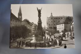 B422 Freiburg Im Breisgau Historische Metz Aufnahme 1908 Repro - Freiburg I. Br.