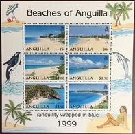 Anguilla 1999 Beaches Minisheet MNH - Anguilla (1968-...)