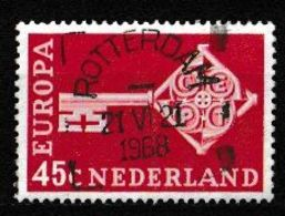 (!)  Timbre EUROPA CEPT De 1968 PAYS BAS Oblitéré - 1968