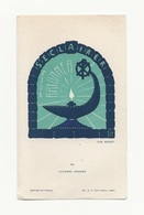 Lucerna Ardens N° 58, Par Fra Nodet, S'éclairer, Lampe à Huile, Scout, Scoutisme - Images Religieuses