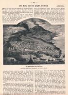 512 Ätnaausbruch Ätna 1892 Vulkan Sizilien Artikel Mit 3 Bildern 1892 !! - Books, Magazines, Comics