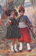 CPA GUERRE 1914 1918  LE RETOUR Publicité Dubonnet - Heimat