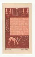 Comme Le Cerf Soupire Auprès Des Sources... Par Fra Nodet, 1934, éd. Audin, Scout, Soutisme - Images Religieuses