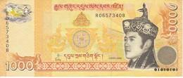 BILLETE DE BHUTAN DE 1000 NGULTRUM DEL AÑO 2008 (BANKNOTE) - Bhutan