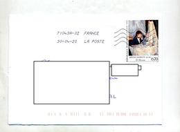 Lettre Flamme Chiffrée Sur Morisot - Mechanical Postmarks (Advertisement)